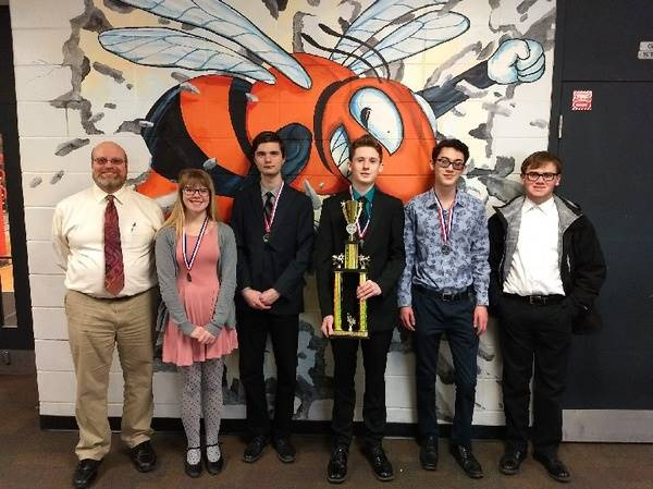 Mt. Vernon High School Licking County ESC Quiz Bowl League Runner-Up