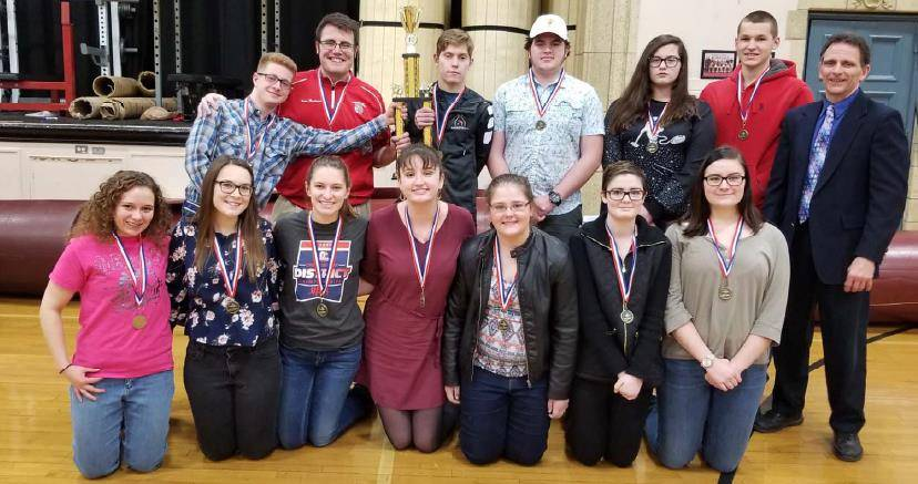 Centerburg High School Licking County ESC Quiz Bowl League Champion